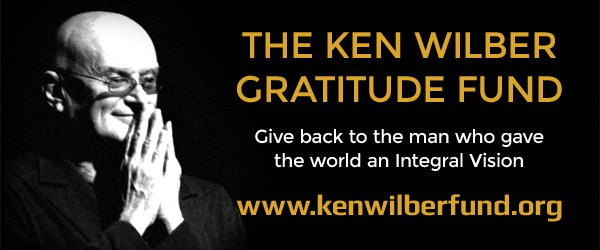 Introducing The Ken Wilber Gratitude Fund