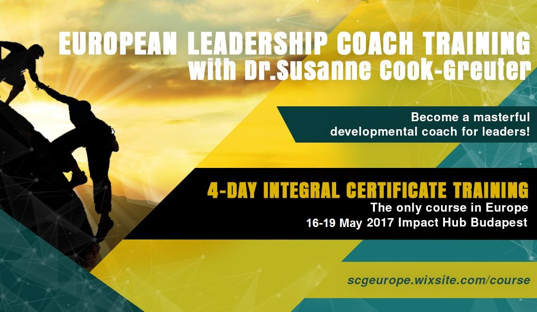 European Leadership course could be of great value for coaches