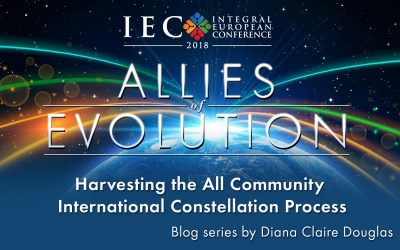 The Big Community Constellation on IEC 2018 – Diana Claire Douglas