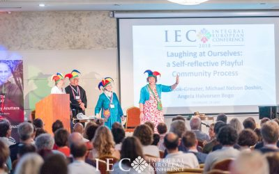 Laughing at Ourselves – The Self-reflective Playful Community Process on IEC 2018