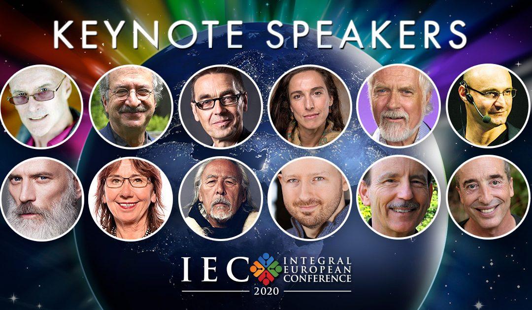 Meet the keynote presenters of IEC 2020!