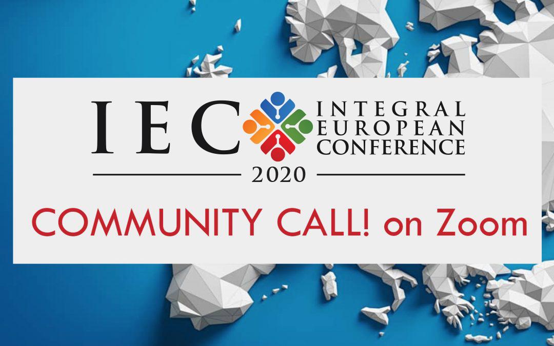 IEC 2020 COMMUNITY CALL
