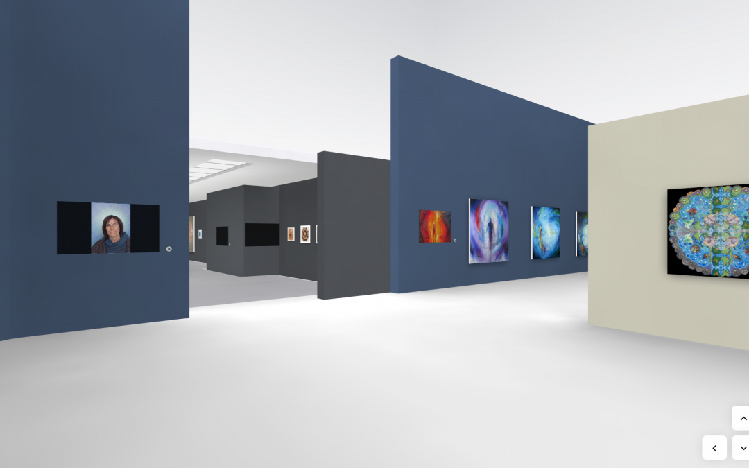 Virtual Integral Art Exhibition at IEC Online 2020