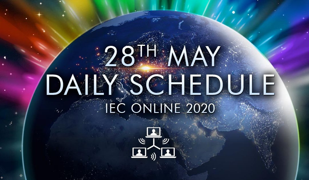 Daily Schedule – 28th May – IEC Online