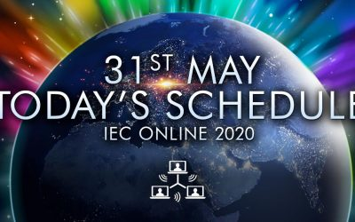 Today's Schedule – 31st May – Closing Day at IEC Online